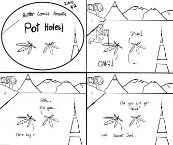 Pot Holes Issue 2